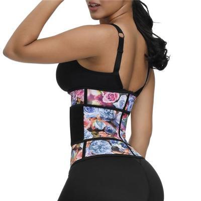 100% Latex Waist Trainer Double Belt Body Shaper Fitness Waist