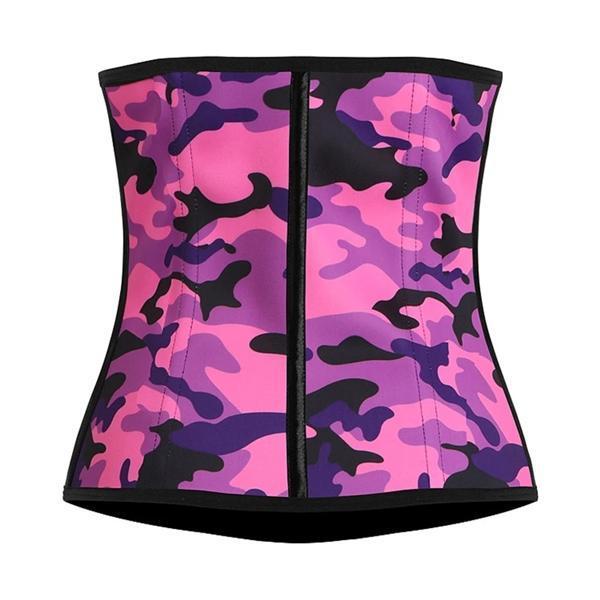 Camouflage Corset Slimming Belt Body Waist Trainer