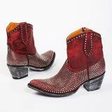 Women Rivet Ankle Boots