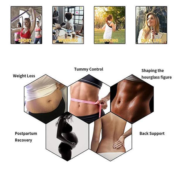 Fitness Latex Waist Trainer Fashion Comfort
