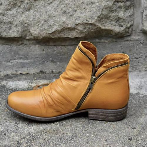 Women New Trendy Low Heel Boots