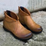 Flat Heel Plus Size Women's Boots