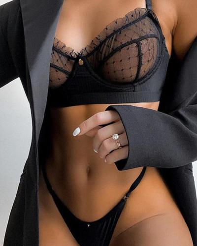 Sexy Lace Lingerie 2 Piece