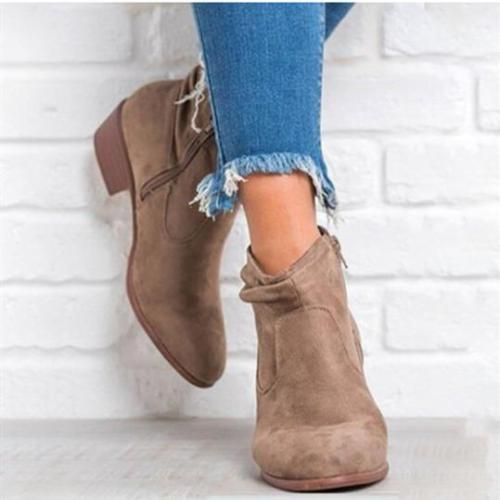Women's comfortable ankle boots