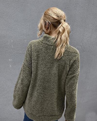 Women Autumn Winter Warm Fashion Fleece Sweatshirts