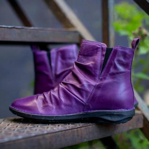 Women Winter Daily Flat Heel Boots
