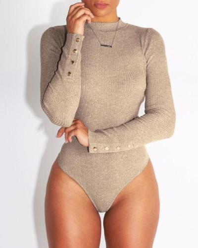 Womens Long Sleeve Bodysuit base shirt