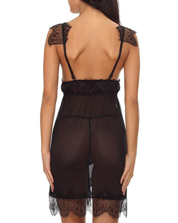 Play With Me Lace Chemise