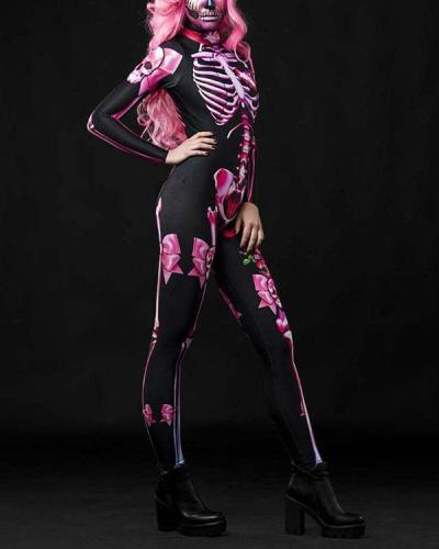 Halloween Women Sexy Costume Jumpsuit