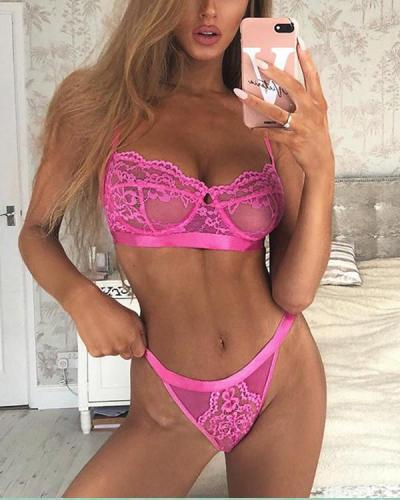 11Colors Lace Lingerie Bra Set