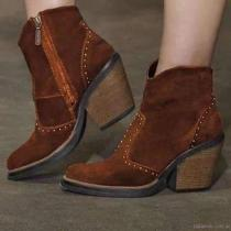 Leather Winter Boots