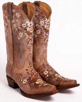 Pu Heel Med Calf Boots