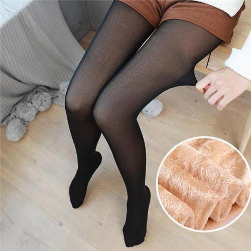 Bare Leg Artifact Warm Velvet Trousers Leggings