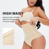 New Comfortable High Waist Control Thong Panty Shapewear