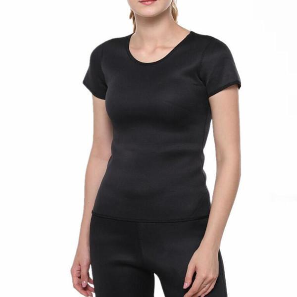 Women Slimmer Sweaty Black Sport Wear