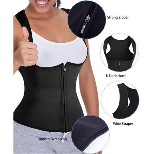 Neoprene Body Shaper Waist Trainer Workout Sweat Vest