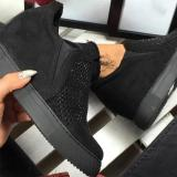 Hallow Suede Boots