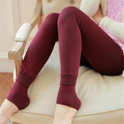 Thick Winter Warm Pants High Waist Slimming Warm Velvet Leggings