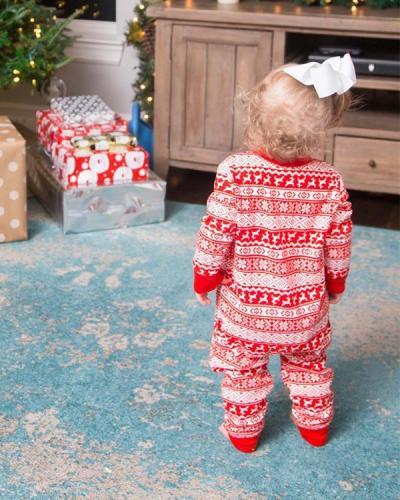 Family Matching Christmas Pajamas For Infants