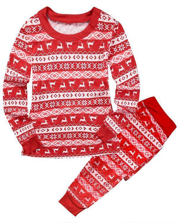 Family Matching Christmas Pajamas For Mom