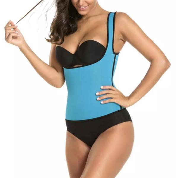 Neoprene Zip Thermal Hot Body Slimming Shapers Vest