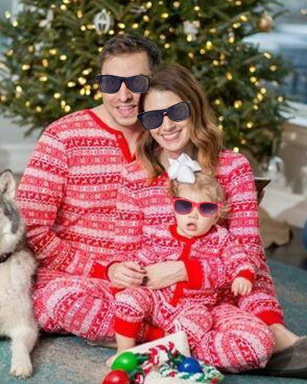 Family Matching Christmas Pajamas For Children