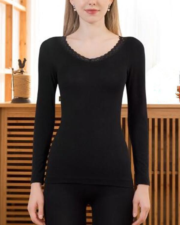 Women Winter Warm Thermal Underwear Set