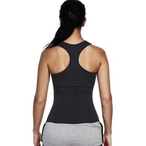 Black Latex Vest Shaper High-Compression