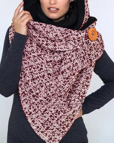 Women Printed Scarf Shawl Stylist Winter Scarf