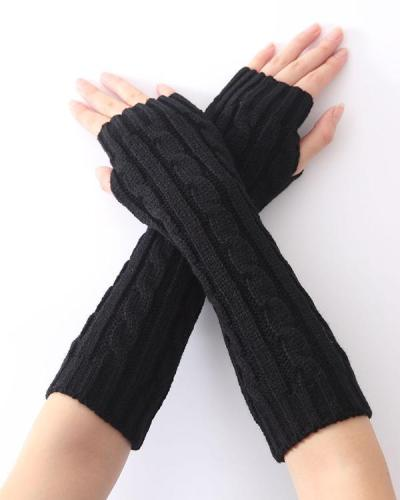 Casual Knitted Women All Season Gloves