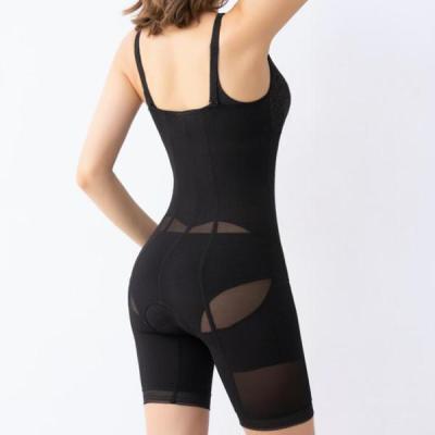 Black Comfortable Bodysuit Tummy Control Shapewear