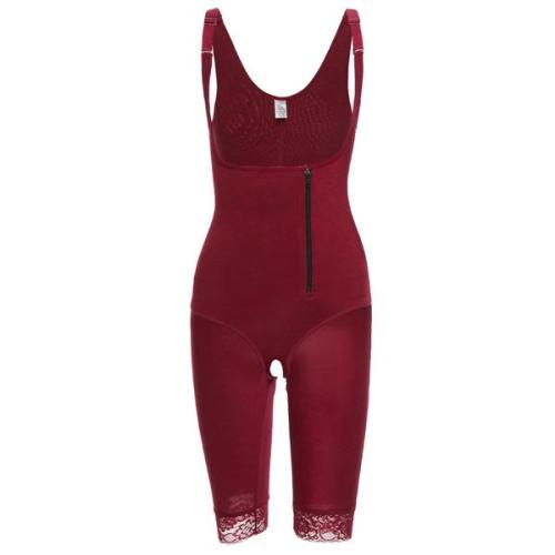 Red Full Bodysuit Shapewear