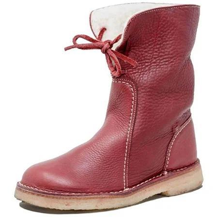 Casual Cotton Winter Low Heel Boots