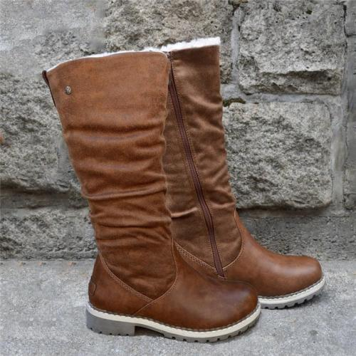 Lady Comfort Soft Cozy Lining Boots