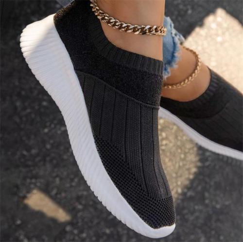 Polyurethane Flat All Seasons Sneakers