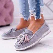 Holiday All Season Flat Heel Loafers