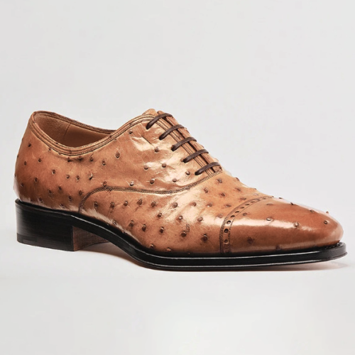 Men'S Ostrich Oxford Shoes