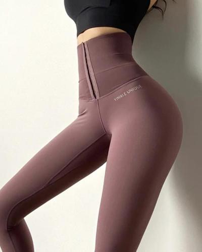 Sexy High Waist Fitness Corset Leggings