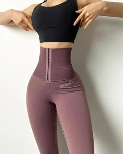 Sexy High Waist Fitness Corset Leggings