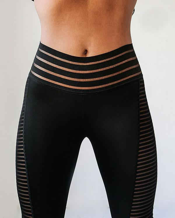 Breathable Workout Push Up Leggings