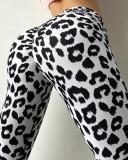 Outdoor Leisure Leopard Print Fitness Yoga Leggings