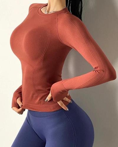 Training Tight-fitting Quick-drying Yoga Long Sleeve