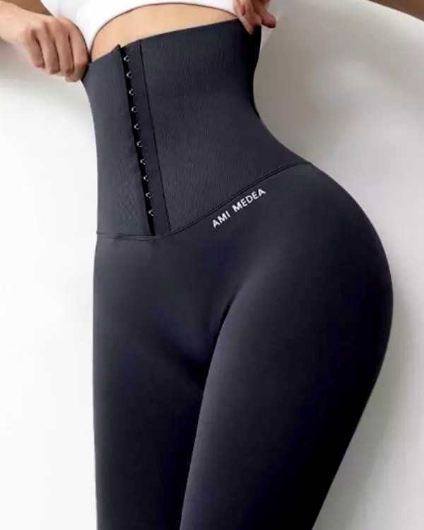 New Women Corset High Waist Gym Fitness Leggings