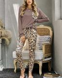 Casual Cotton Loungewear Women's Two Piece Sets