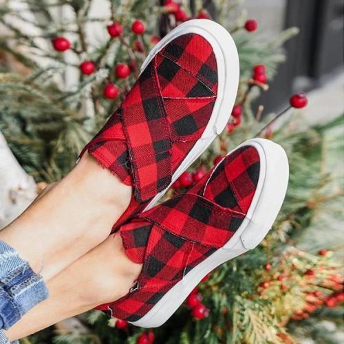 Cross Lace Canvas Shoes