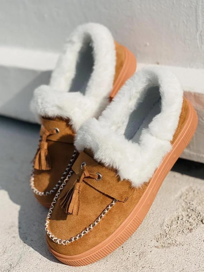 Flat Heel Spring Date Boots
