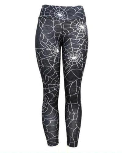 Spiderweb Fitness Legging Yoga Pants