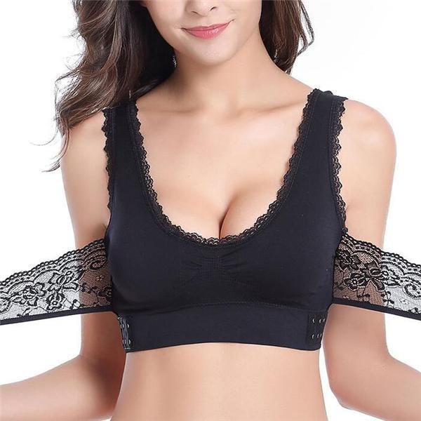 DAISY LIFT - Seamless Lift Bra with Front Cross Side Buckle