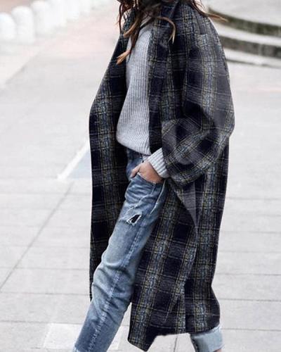 Women Fashion Winter Overcoat
