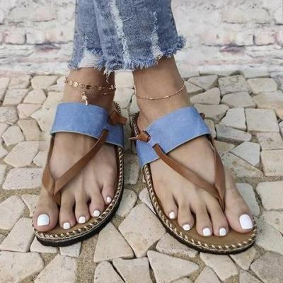Women Casual Summer Daily Comfy Slip On Sandals